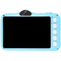mini grabadora de video recargable Rebajas Mini Children Camera, HD Rechargeable Kids Toy Camera Camcorder 32G TF Card 1080P 3.5 inch Toddler Video Recorder(Blue)