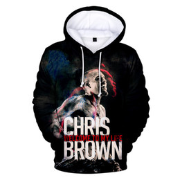 Bräunungs-kapuzenpulli online-2020 Fashion Design 3d Chris Brown Hoody Men's Boys Sweatshirt Popular Youth Hooded 3D Hip Hop Harajuku Pullover Top XXS-4XL