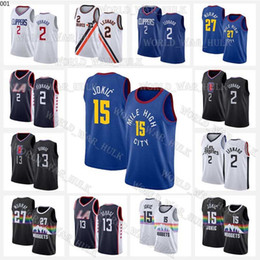 Basketball-trikots paul george online-15 Jokic Jerseys 2 Leonard Jamal 27 Murray Nikola Kawhi Los Paul 13 George Angeles