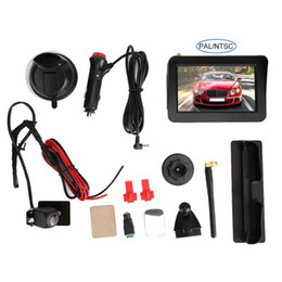 di backup telecamera posteriore wireless Sconti Rear View Car Monitor Camera Kit 5 pollici 2 wireless TV 4G Camera System Monitor Vista posteriore Digital Auto Backup con Auto