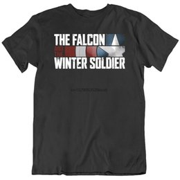 t-shirt soldat d'hiver Promotion Falcon And The Winter Soldier TV Show Fan T-shirt