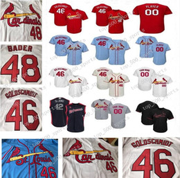 camisetas de béisbol st louis Rebajas Hombres Lady Juventud Kids Paul Goldschmidt Dejong Harrison Bader Yadier Molina Matt Carpenter Wainwright Marcell Ozuna St Louis Baseball Jerseys
