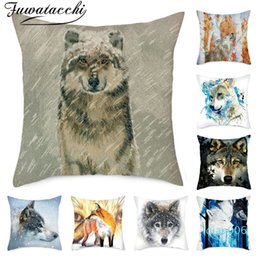 Shop Wolves Pillow UK | Wolves Pillow