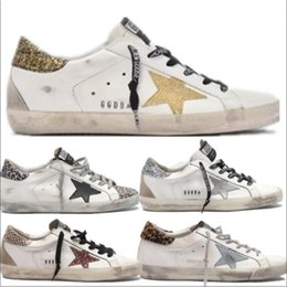 Chaussures femme ggdb en Ligne-Golden Goose GGDB A41 Italie Multicolor or Superstar Gooses Baskets mode Homme Femme Classique Blanc Do-savates de sales Chaussures Casual Taille 35-45ASSS Arhe
