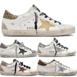 Chaussures femme ggdb en Ligne-Golden Goose GGDB A41 Italie Multicolor or Superstar Gooses Baskets mode Homme Femme Classique Blanc Do-savates de sales Chaussures Casual 35-45 HNGFD