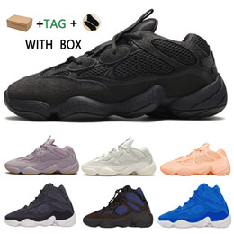 Scarpe da ginnastica adidas online-adidas kanye west yeezy boost 500 yezzy yeezys shoes chaussures yecheil scarpe 2021 shoes 3m white 500s black reflective mens women stock x sneakers wave runner 500