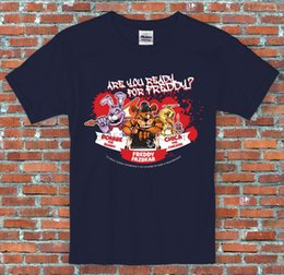 nuits s t-shirt freddy Promotion Prêt pour Freddy Chica Bonnie Five Nights Jeu Vidéo Inspiré S designers sweat à capuche 2XL t-shirt sweat-shirt