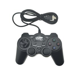 usb game controller für pc gamepad Rabatt USB Wired Joystick PC Vibration Joypad Game Controller Gamepad für PC Computer Laptop USB Wired Game-Controller