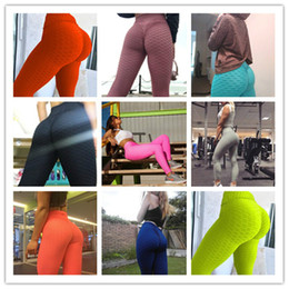 2021 sexy mode sport Sport Leggings Courir Yoga Pantalon fitness Mode sexy sport Skinny Pantalons femme Jacquard Push Up Tight Pants Vêtements S-3XL F92901 promotion sexy mode sport