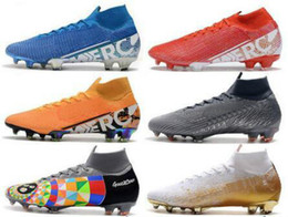 Stivali sotto online-2020 Mens Tops scarpe da calcio Under The Radar Mercurial Superfly VII 360 Elite FG scarpe da calcio Neymar ACC Superfly cr7 Outdoor Tacchetti Calcio