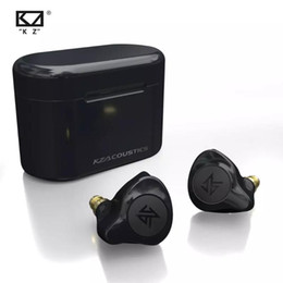 2021 s2 tws auricolare wireless bluetooth KZ S2 Vero Wireless TWS auricolari Bluetooth V5.0 ibrida 1DD + 1BA gioco auricolari Touch Control Noise Cancelling Sport Headset Gioco sconti s2 tws auricolare wireless bluetooth