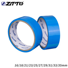 cerchi da 24 pollici Sconti ZTTO Bicycle Tubeless Rim Tapes MTB Road Bike Rim Tape Strips 10 Meter for 26 27.5 29 Inch 700c Width 16 18 21 23 25 27 29 31 33