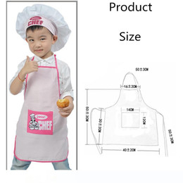 1pc Parent Child Family Set Full Painting Apron with Pocket for Kitchen Craft UK