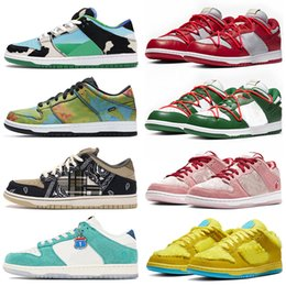 zapatillas de skate para mujer Rebajas Zapatos sb dunk low off white Chunky Dunky Civilist Kasina Rubber Dunks Chicago Valentine  Mujer Hombre Zapatillas deportivas Zapatillas deportivas Hombre