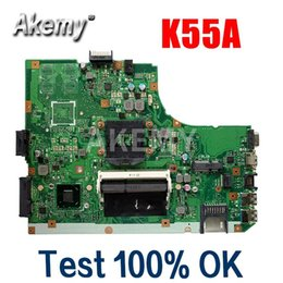 2020 asus original laptop Amazoon K55A Laptop Motherboard für Asus K55A A55V K55VD K55V K55-Test original Mainboard GM günstig asus original laptop