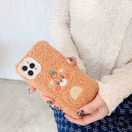 Orso marrone di iphone online-cassa del telefono Orso bruno IPhone 11 phonecase moda phonecase Coppie di modo per IPhone 11Pro / MAX / XS