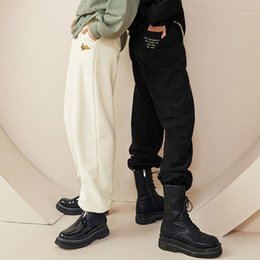 pantaloni stile di celebrità Sconti TPN 2020 Autumn & Winter New Style Casual Pants Ouyang Nana Celebrity Style Beam Foot Athletic Pants Female A6gba43781