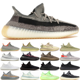 sneaker pirata nero Sconti New Eliada Carbon Marsh Yecheil Kanye West Mens Sport Cinder Earth Pirate Black Statico Designer Designer Designer Scarpe da corsa Sneaker Big Size US13