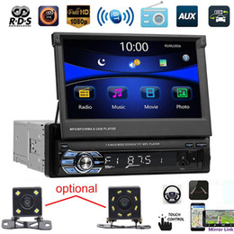 "sd usb mp5 Rabatt Neue 7 '' SWM 9601G Auto Stereo MP4 MP5-Player-Unterstützung hinten Kamera 7 ""USB SD Stereo FM Radio Audio Video in-Dash 1 DIN-Touchscreen"