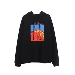 Sudadera con capucha online-El rapero de Hip Hop sudaderas Turn It Up hasta que no se oye con capucha Hombres Mujeres Llama Sun Stickman algodón con capucha Casual sudaderas con capucha
