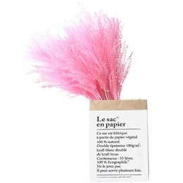 2021 fiori bianchi alti rosa colore bianco naturale pampas erba decor flower beautiful wedding flowers mazzo di natale decorazione domestica Phragmites Tall 17-22 201130