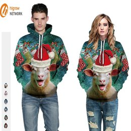 Pullover re leone online-Uomini e donne Panno NA Generazione di Fat New Winter Printing Star Lion King Leisure Big Yards Lovers Pullover Maglione con cappuccio