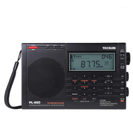 2021 digitalradios tecsun TECSUN PL-660 Tragbare Hochleistungs-Vollband-Digital-Tuning-Stereo-Radio FM am Radio SW SSB-Multifunktions-Digital-Display1
