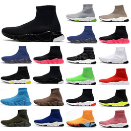 Ботинки ускорились онлайн-chaussures scarpe zapatos sock zapatilla baskets femmes hommes balenciaga balenciaca balanciaga speed socks sneakers men women shoes