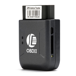 Foto espanhola on-line-rastreador New OBD2 GPS TK206 OBD 2 Tempo real GSM Quad Band Anti-roubo alarme vibratório GSM GPRS Mini GPRS de rastreamento GPS do carro OBD II