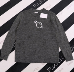 pull en tricot Promotion 2021 Sweat à capuche occasionnel Femmes Coups de tricoter Sweatshirts Designers Pull de laine Sweat-shirt High Sweat-shirt