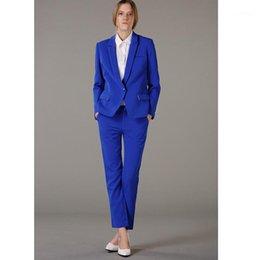 Shop Royal Blue Pants Suit Women Uk Royal Blue Pants Suit Women Free Delivery To Uk Dhgate Uk