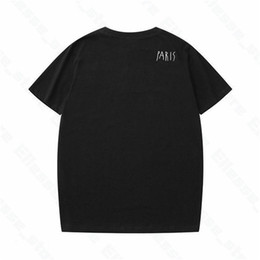 Camisas de luxo de manga curta on-line-2021 Designers Mens Womens T Shirts for Man Paris Fashion T-shirts Top Quality Tees Street Manga curta luxurys Camisetas Asiáticas M-XXL
