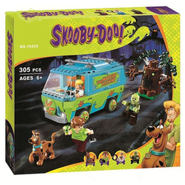 giocattoli scooby doo Sconti 10430 10428 Scooby Doo The Mystery Machine Building Block Toys Set Bricks Educational for Children C1114