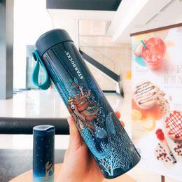 Starbucks Starry Sky Mermaid Vacuum Cup Stainless Steel 473 ML Blue China 2018