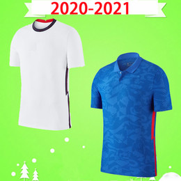 2021 white boy kit England 2020 2021 Fußball Jersey Home White Away Blue Lingard Kane Sterling Football Hemd Erwachsene Vardy Jungen DELE 20 21 MENS KIDS KIT