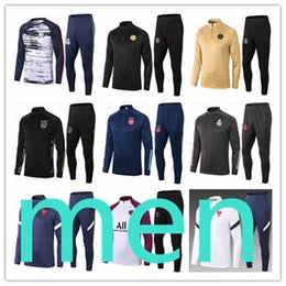 Costumes de jogging pour hommes en Ligne-men 2021 psg jordan survetement tracksuit kit Real Madrid Maillots chandal ajax training equipe de france Paris Saint Germain survêtement pour homme de football foot fc barcelona