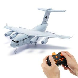 epp rc avions Promotion RCTOWN C17 C-17 Transport 373mm Wingspan EPP DIY RC Airplane RTF