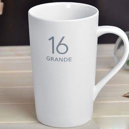 Wholesale Brief Coffee Cup Solid Color Coffee Mug Matt White 3oz 12oz 16oz 20oz For Choice JovP#