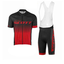 Shott shorts de ciclismo scott on-line-2020 Tour de France Scott Ciclismo manga curta camisas + Bicicleta Big Shorts Terno Mountain Bike Maillot Homens Ciclismo Roupas Y051409