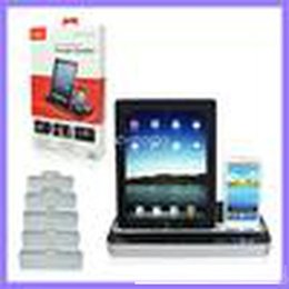 Docking station per ipad apple online-IPEGA Charger Docking Station + altoparlante stereo per tablet pc per Samsung S2 S3 S4
