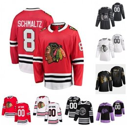 marcus kruger jersey Sconti Personalizzato Dominik Kubalík Drake Caggiula Dylan Strome John Kirby Quenneville Dach Marcus Kruger Matthew Highmore 2020 pullover del hokey ha cucito