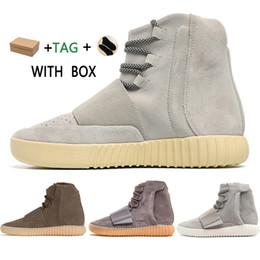 2021 migliori scarpe da uomo 2021 New  Kanye West yeezy 750 shading outdoor sports yezzy yeezys shoes yecheil for men hot selling 750 shoes skateboard chaussures Sneakers high top Best Quality Athletic