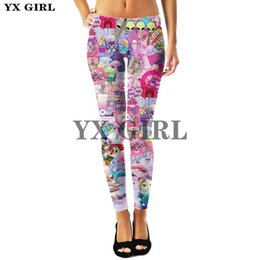 animale sessuale femminile Sconti YX Ragazza Pantaloni lunghi Plus Size Sex Sex Leggings per le donne Lisa Frank Cartoon Animal Donne 3D Stampa Leggings Fashion Pantaloni da modo LJ200923