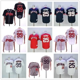 ricky vaughn jersey Promotion 2019 hommes femmes jeunesse de baseball maillots de baseball enfants cousu jim thome ricky voaugn kenny lofton manny jersey de baseball manny ramirez