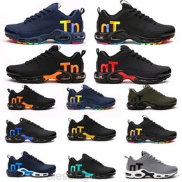 Beste joggingschuhe im freien online-Mercurial Tn Herren Designer Schuhe 2019 Männer Casual Air Kissen Kleid Trainer Outdoor BEST Wanderern Jogging Sport Turnschuhe US 7-12 BT11