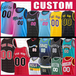 Kundenspezifische basketball jerseys online-S-XXL Benutzerdefinierte Name Jede Nummer Film Space Jam Tune Squad Jersey 2021 Neues Mesh Retro Los Custom Angeles Herren Basketball-Trikots