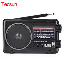 2021 digitalradios tecsun Neue Tecsun R-305 Full Band Radio Digital FM SW Stereo-Radio-Empfänger LOUDER-Lautsprecher-Musik-Player Portable1