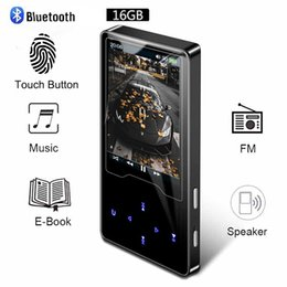 2020 può toccare mp3 Video Player Bluetooth Touch Screen ultrasottile possono guardare Nove Film Inglese lettore musicale Walkman Fm Radio LJ201016 può toccare mp3 economici