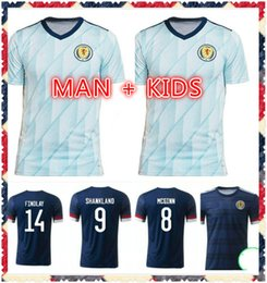 schottland oben Rabatt Schottland Fußball-Hemd 2020 2021 Schottland Nationalmannschaft Fussball Jersey Robertson McGinn Christie Top Qualität 20 21 Home Away Herren + Kids Kit