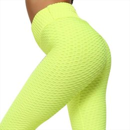 jaune leggings femmes  Promotion Guching Push Up Leggings pour Vêtements de fitness 2020 Bodybuilding Sexy Tergging Sportswear Temps d'aventure Yellow Womens Pantalon de survêtement